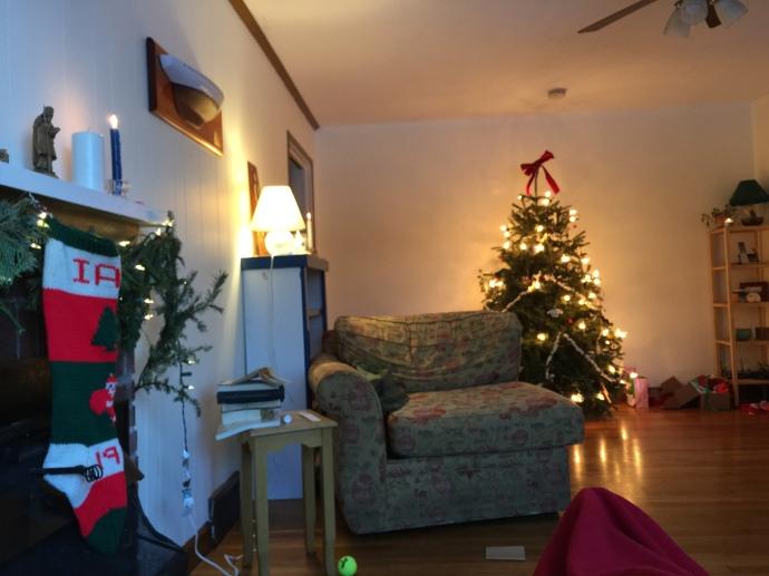 Christmas Tree Parsonage